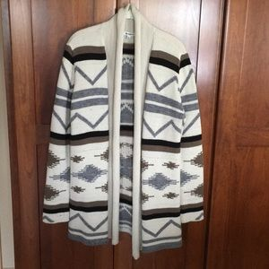 Cardigan sweater size Large